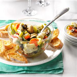 Antipasto Marinated Vegetables Recipe