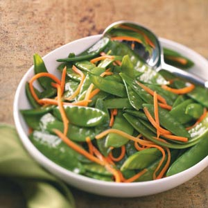 Snow Pea & Carrot Saute for Two Recipe