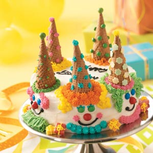 Birthday Clown Cake Recipe Taste of Home
