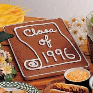 Graduation Sheet Cake Recipe