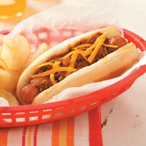 Coney Dogs Recipe