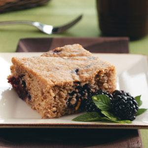 Blackberry Whole Wheat Coffee Cake Recipe