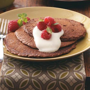 Cocoa Pancakes Recipe