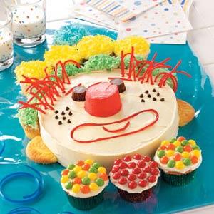 Happy Clown Cake Recipe Taste of Home