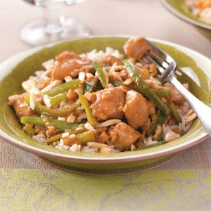 Ginger Chicken for Two Recipe