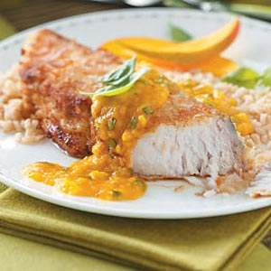 Coconut-Mango Mahi Mahi for Two Recipe
