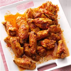 Sweet & Spicy Chicken Wings Recipe