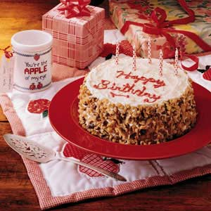 Grandparents Birthday Cake Recipe