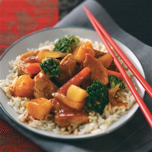 Pineapple Pork Stir-Fry Recipe