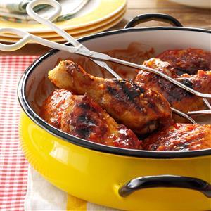Contest-Winning Barbecued Chicken Recipe