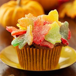 Autumn Leaves Cupcakes Recipe