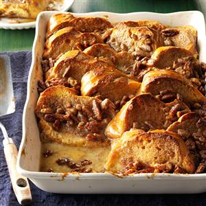 Oven French Toast with Nut Topping Recipe