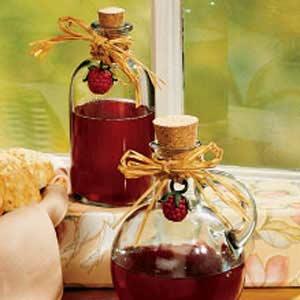Raspberry Honey Vinegar Recipe