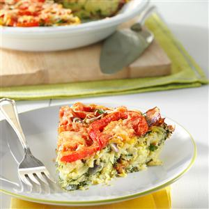 Spinach Potato Pie Recipe