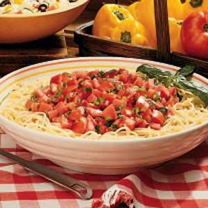 No-Cook Herbed Tomato Sauce Recipe