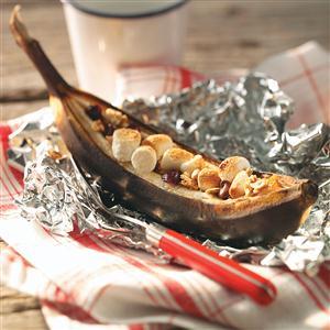 Hot Quick Banana Boats Recipe