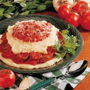 Polenta with Italian Sausage Recipe
