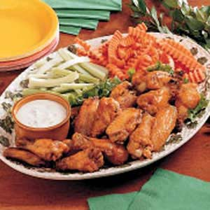 Deep-Fried Spicy Chicken Wings Recipe