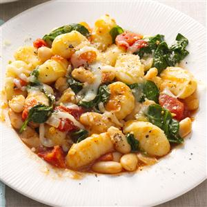 Gnocchi with White Beans Recipe