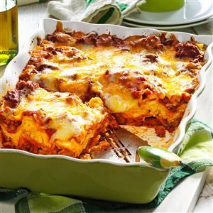 No-Fuss Lasagna Recipe