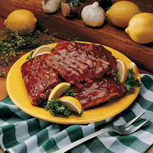 Barbecued Spareribs Recipe