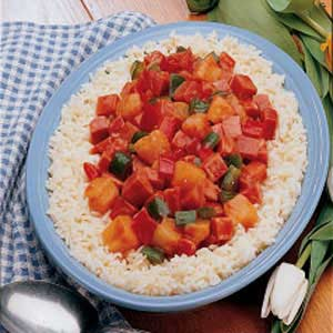 Sweet and Sour Ham Recipe