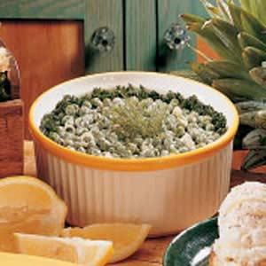 Dilly Pea Salad Recipe