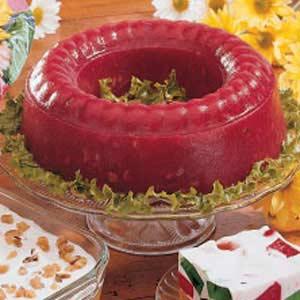 Molded Rhubarb Salad Recipe