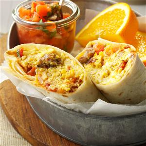Brunch Burritos Recipe