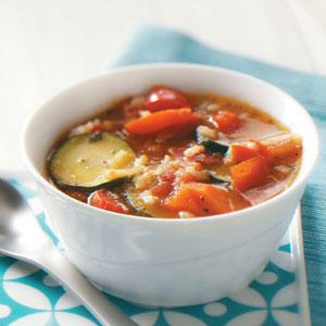 Ziploc Garden Vegetable Soup Recipe