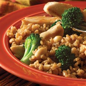 Easy Teriyaki Chicken & Brown Rice Dinner Recipe