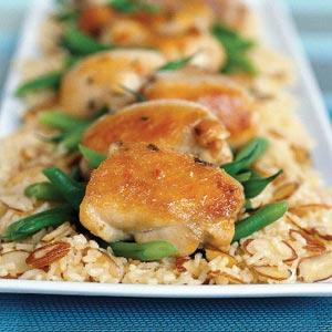 30 Minute Almond Chicken Recipe
