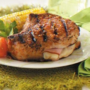 Ziploc Cordon Bleu Pork Chops Recipe