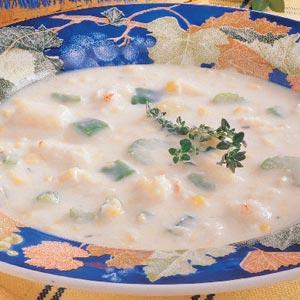 Ziploc Crab Bisque Recipe