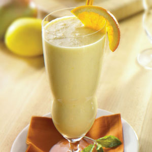 Orange Mango Smoothie Deliciousness Recipe