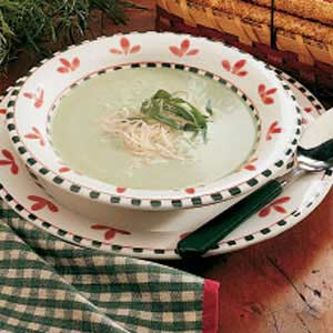 Creamed Asparagus Soup Recipe
