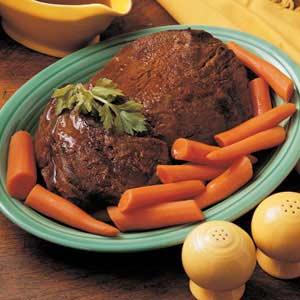 Old-Fashioned Pot Roast Recipe