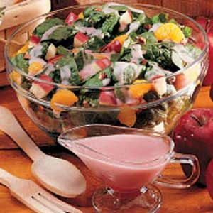 Fruited Spinach Salad Recipe