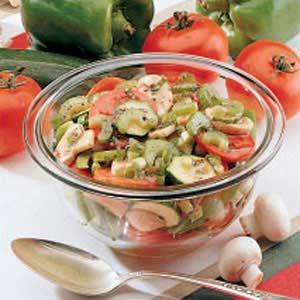 Garden Vegetable Salad Recipe