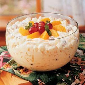 Creamy Fruit Bowl Recipe
