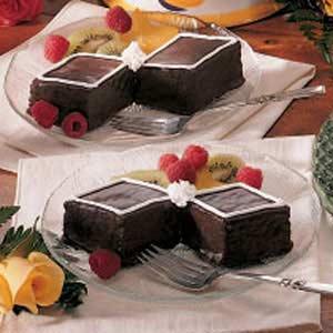 Bow Tie Cakes Recipe
