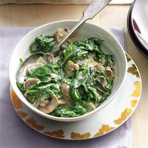 Parmesan Creamed Spinach Recipe