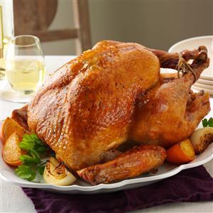 Orange Roasted Turkey Recipe