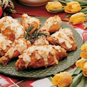 Baked Almond Chicken Recipe