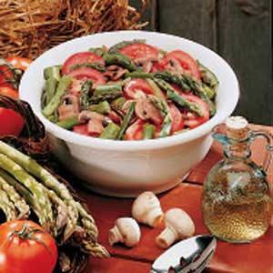 Asparagus Tomato Salad Recipe
