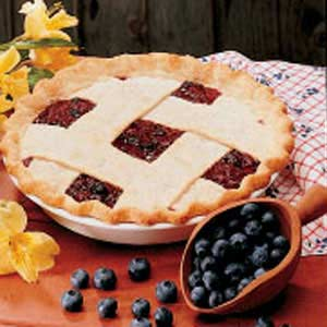 Bonnie Blue-Barb Pie Recipe