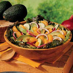 Orange Avocado Salad Recipe