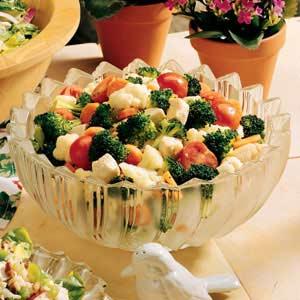 Broccoli-Cauliflower Toss Recipe