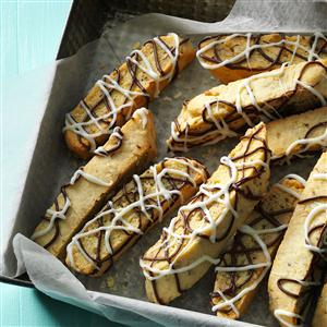 Double-Drizzled Biscotti Recipe