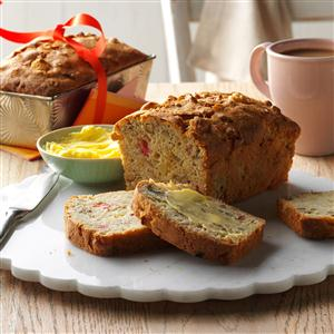 Apple-Rhubarb Bread Recipe